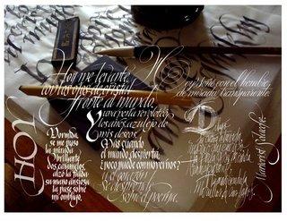 Peruvian Calligraphy