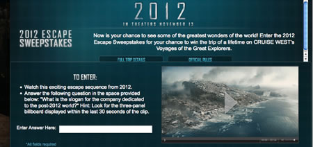 2012: The End of the World (in a couple of years)