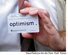 Art Branding: Christo and the Optimism Card
