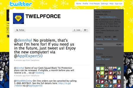 Twittering | Black Friday | 2009