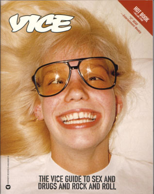 VICE   MAGAZINE OF: BRANDS BUILT ON CHAOS