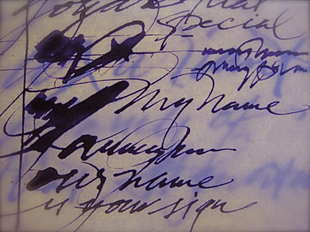 The Signature of a Brand   Human Handwriting and Character