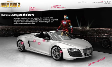 Audi and Iron Man | Brand, Story and Product Merchandising