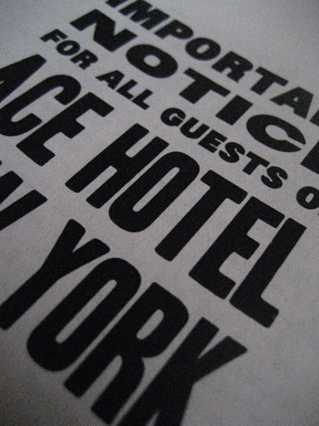 ACE HOTEL | NYC