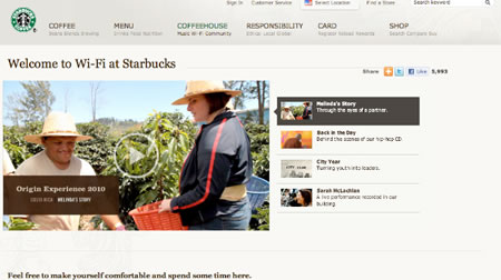 Wi-Fi ubiquity: Starbucks + new digital content