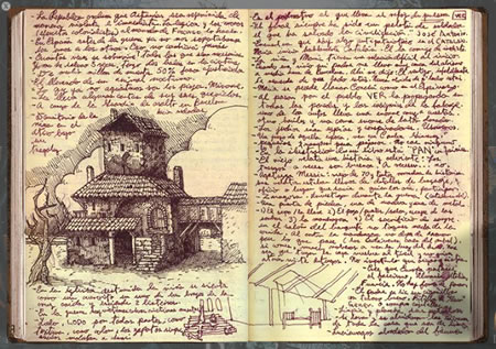 The Lost Sketchbooks of Guillermo Del Toro