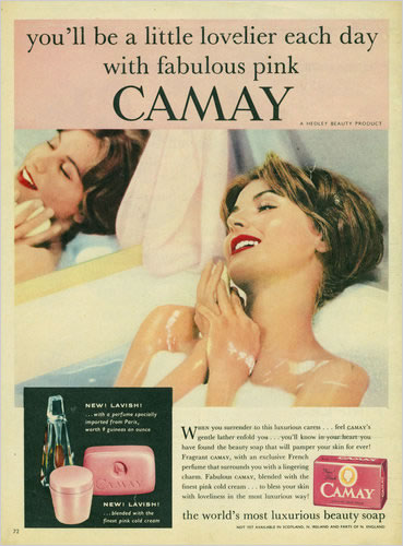 Camay | Brand, story, legend: vanishment