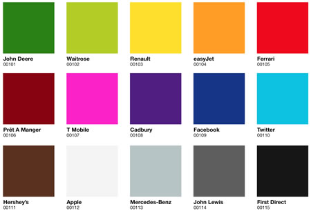 Brand colorations | 2011 trend