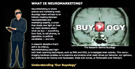 Love and the psychic space of brand strategy -- Buyologicals: 2011