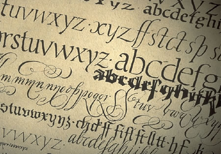 The Alphabet | A History of Girvin Calligraphy