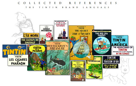 The Adventures of Tintin   Logo Development