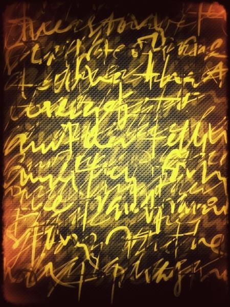 THE LAYERING OF TEXT | ALPHABET RHYTHMS | GALLERY V
