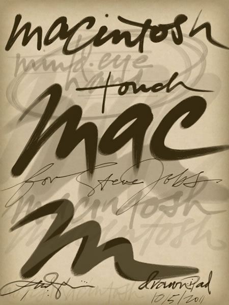 The Script of Screen | Macintosh and the iPad