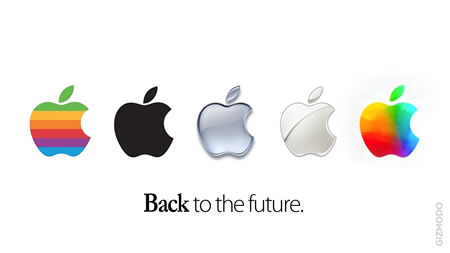 the love of handwork | apple's colour-wash logo
