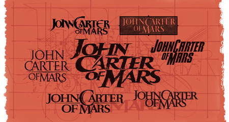 The design of John Carter | LOGO / Brand / Story