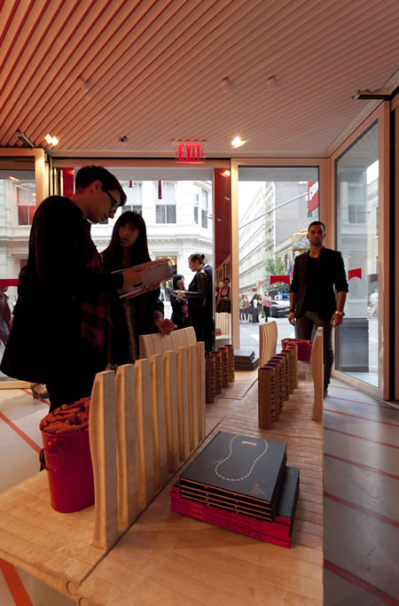 Camper's New Soho shop | Shigeru Ban