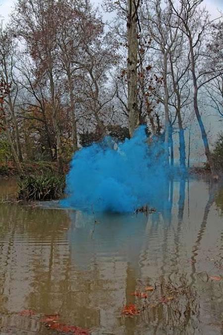smoke + art   the wavy line