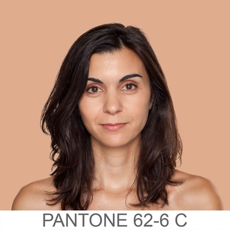 The humanity of color | Pantone's new human color numbering system & Angelica Dass: