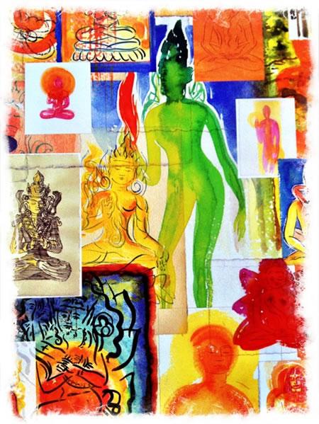 Drawing Gods as a Meditation