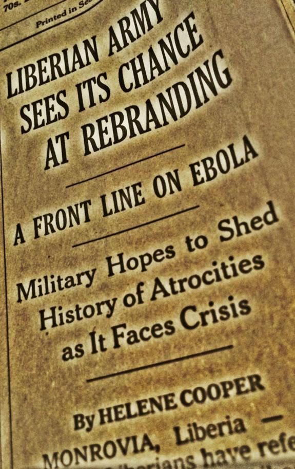 Ebola and Rebranding
