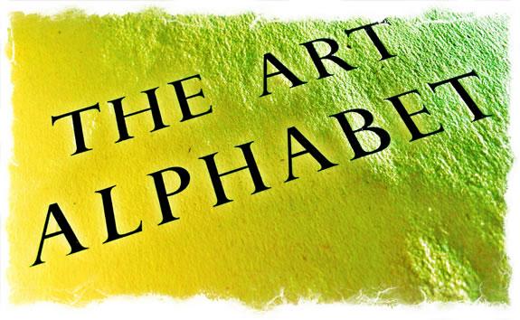 THE ART OF THE ALPHABET