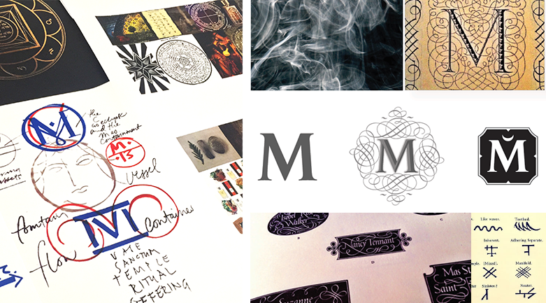 House of Matriarch Logo Explorations