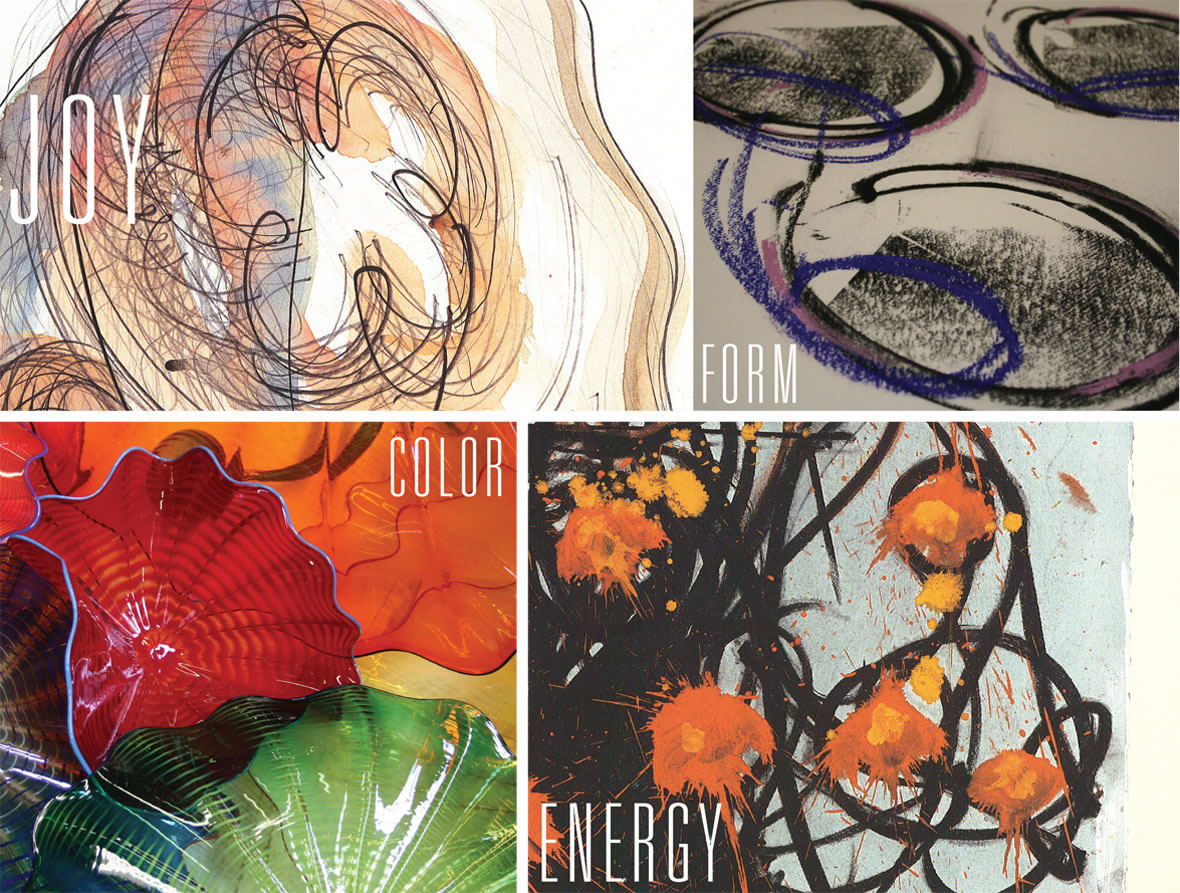 Chihuly Moodboards | GIRVIN