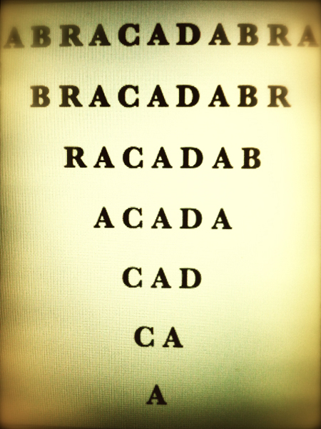 The Magical Alphabet