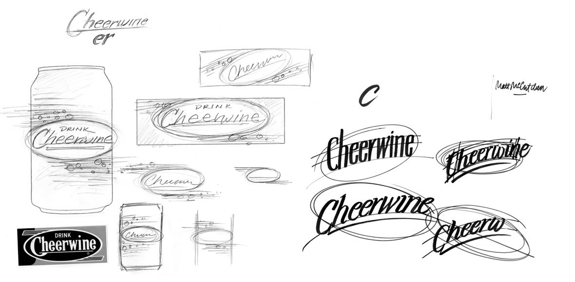Cheerwine Logo Concepts