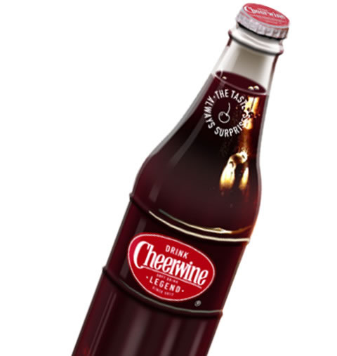Cheerwine Logo on Bottle