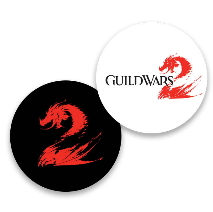 Guild Wars 2 XBox 360 Game Disk Design