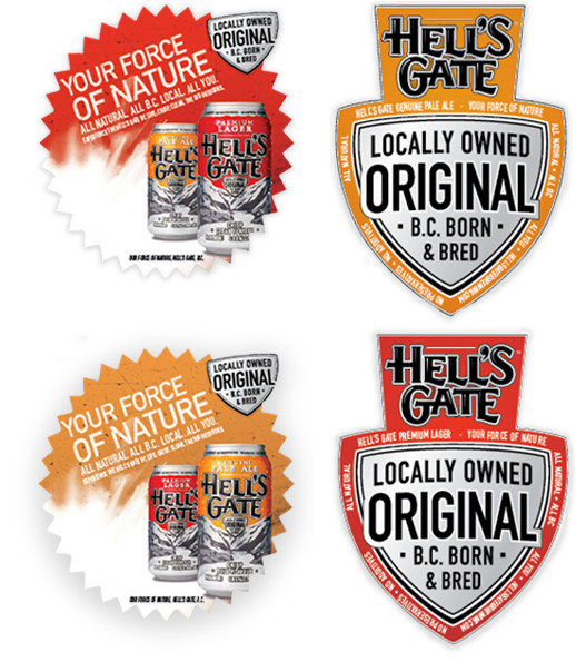 Hell's Gate Label Badge