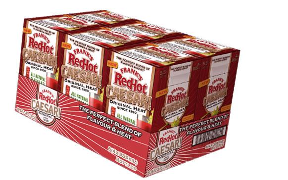 Frank's Red Hot Caesar Packaging   GIRVIN