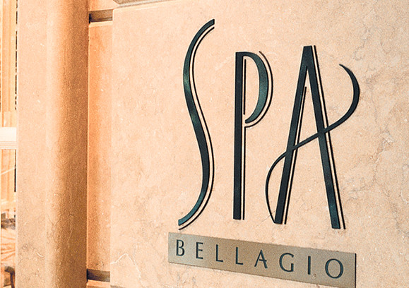 Spa Bellagio Logo and Signage