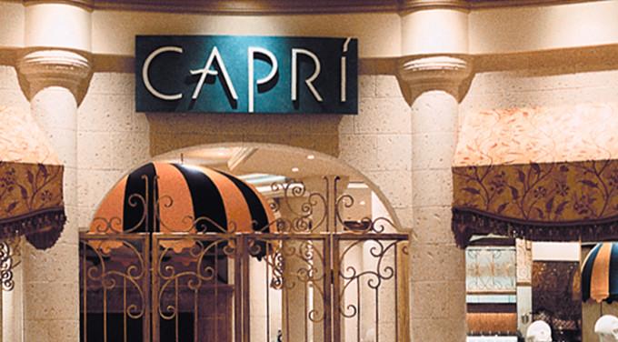 Bellagio Capri Logo and Signage