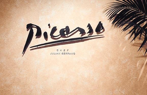 Bellagio Picasso Logo and Signage