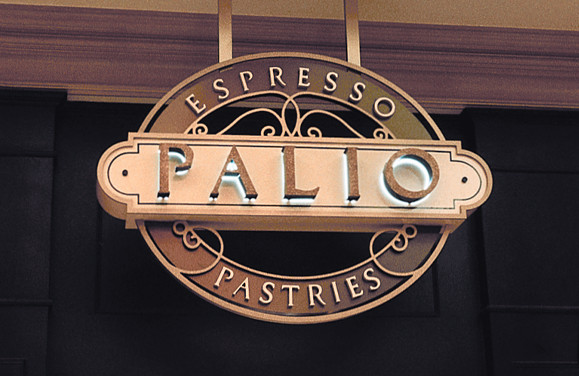 Bellagio Palio Logo and Signage