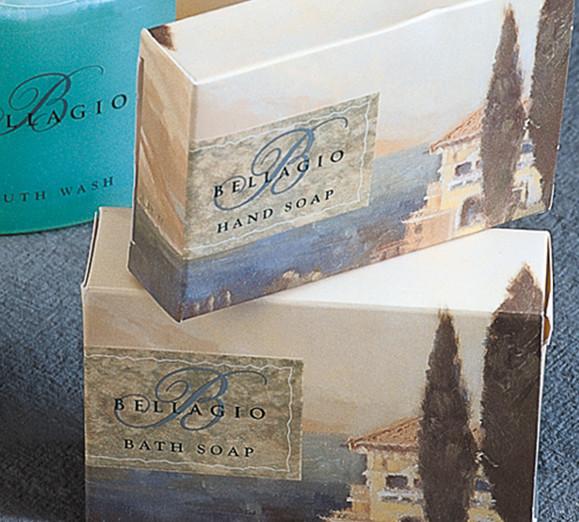 Bellagio In-Room Soap Packaging