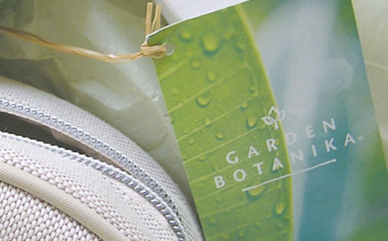 Garden Botanika Hang-Tag