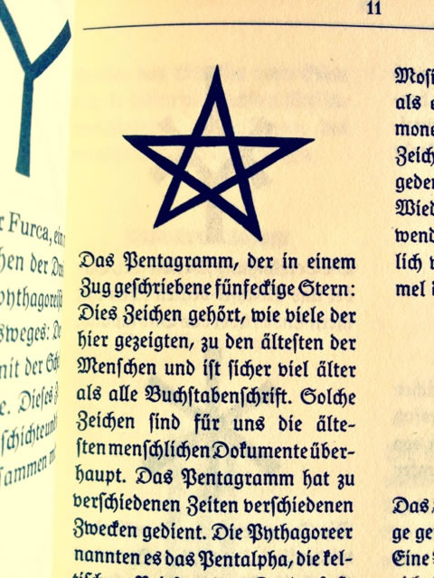 The Sign and the Symbol, the Signal of the Sigil -- Rudolf Koch's Book of Signs