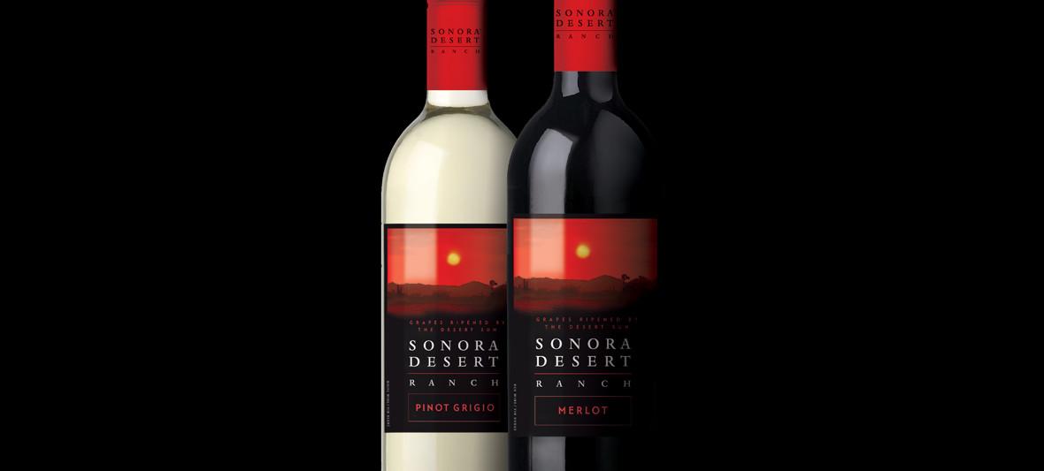Sonora Desert Ranch Wine Bottles & Labels