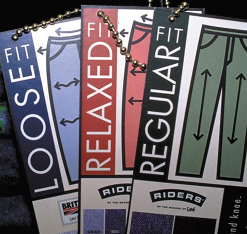 Riders Jean Tags