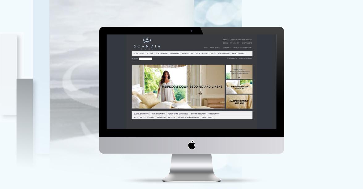 Scandia Down Website
