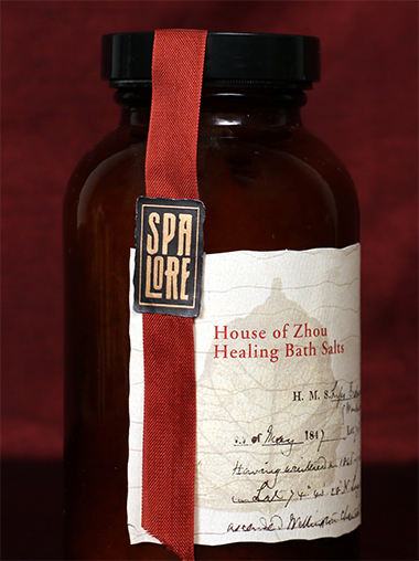 Spa Lore Packaging