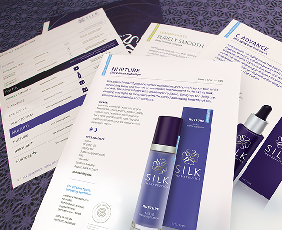 Silk Therapeutics Marketing Pamphlets