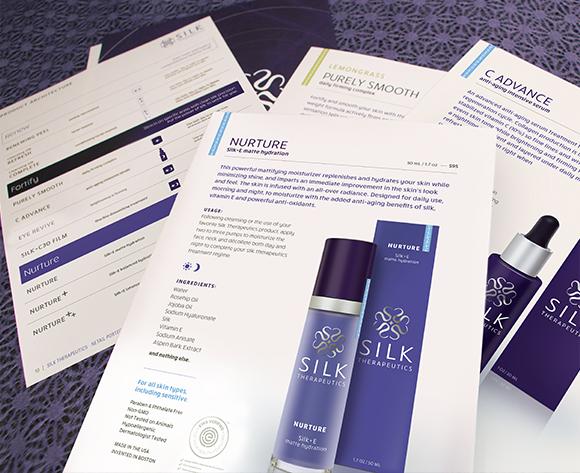 Silk Therapeutics Marketing Pamphlets