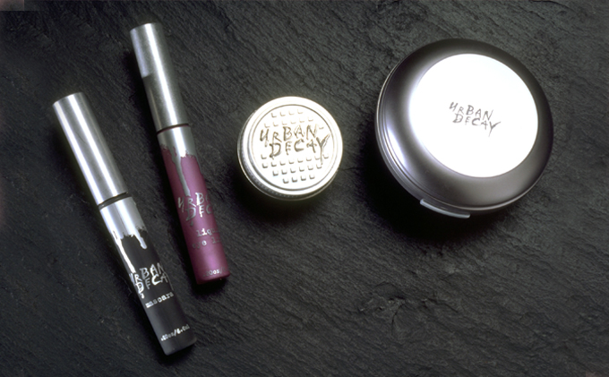 Urban Decay Silver Packaging