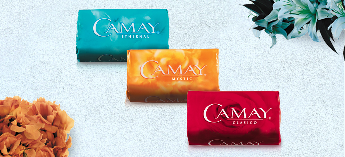 Camay Soap Packaging Lineup