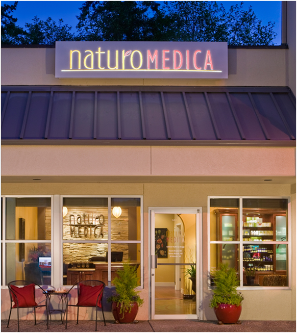 NaturoMedica Marketing Outdoor Signage