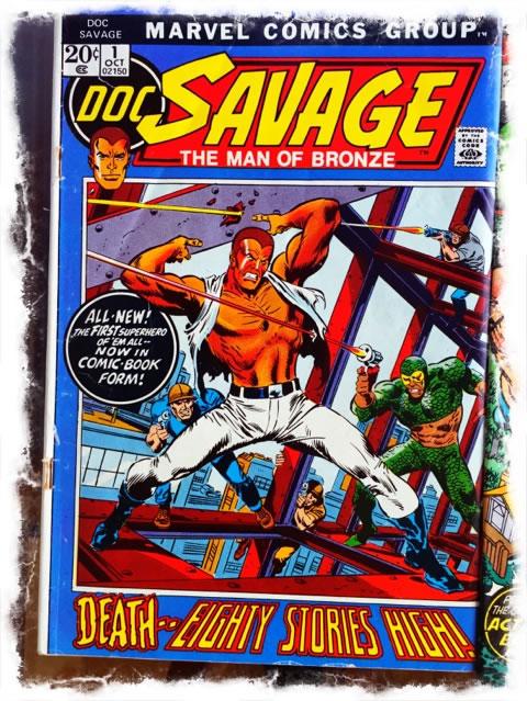 Dwayne Johnson as Doc Savage